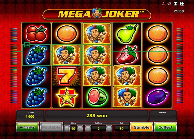 casino online slot mega joker