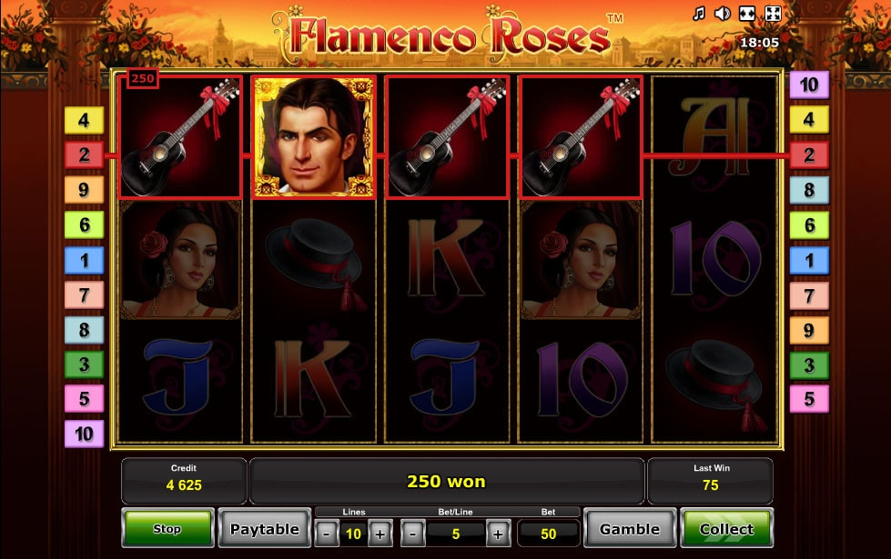 Spiele Flamenco Roses - Video Slots Online