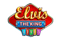 WMS Gaming Elvis the King Lives logo