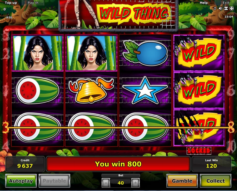 Rumble in the Jungle kostenlos spielen | Online-Slot.de