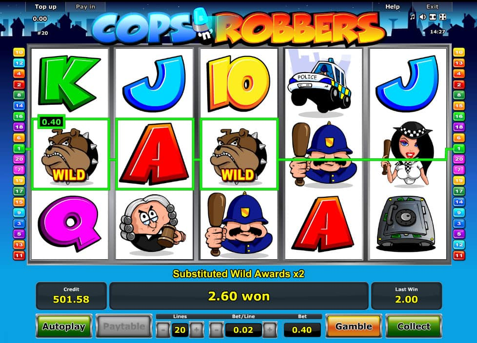 online casino neu cops and robbers slots