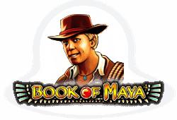 Novomatic Book of Maya logo
