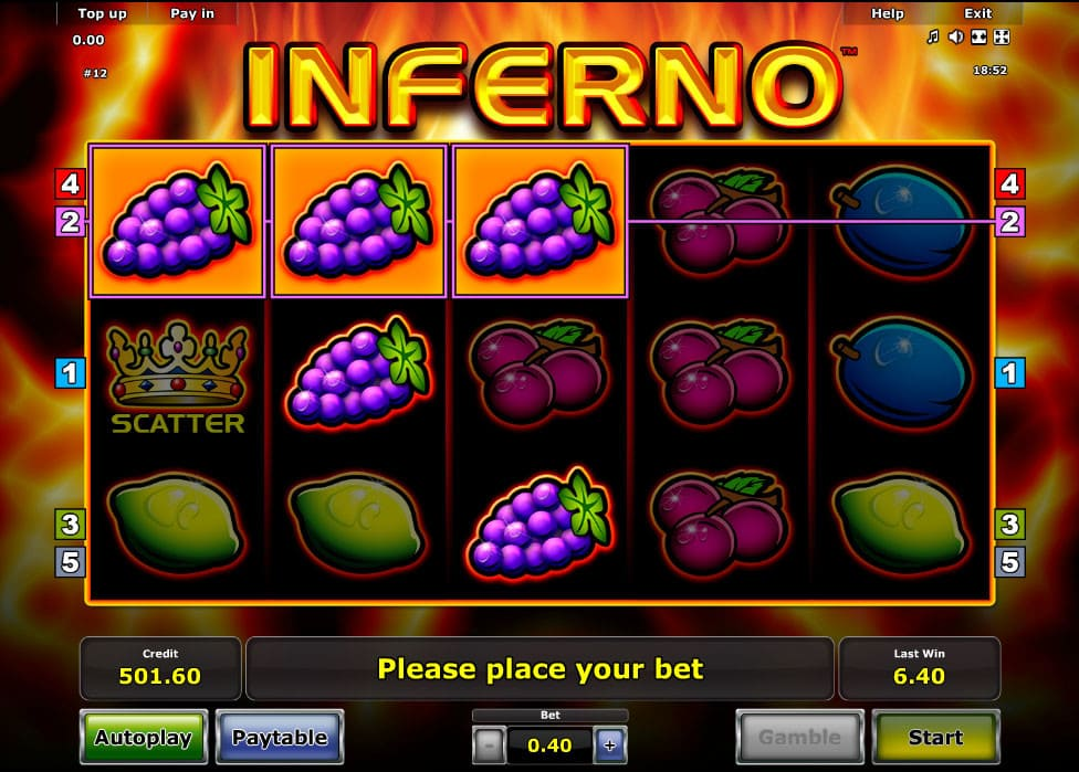 welches online casino sizzling game