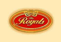 Novomatic The Royals logo