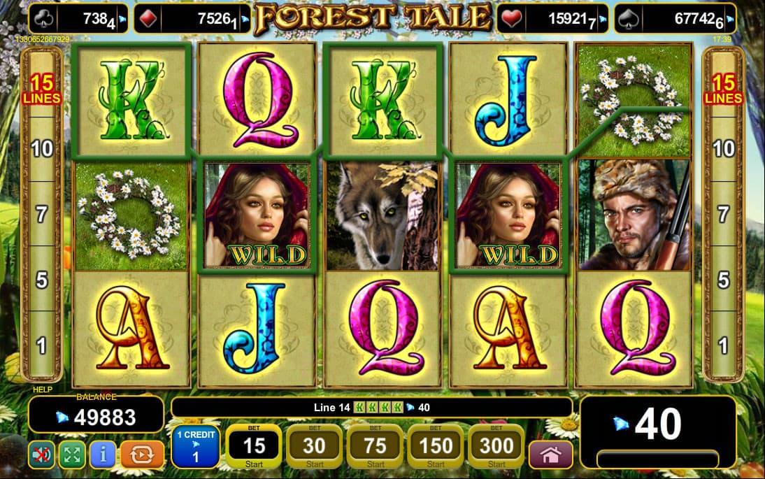 Forest Tale Slots - Jetzt gratis oder mit richtigem Geld spielen