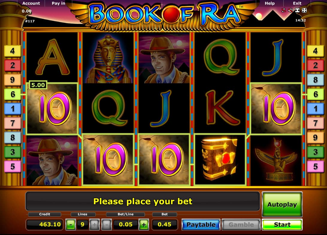 Online Slots Spiele