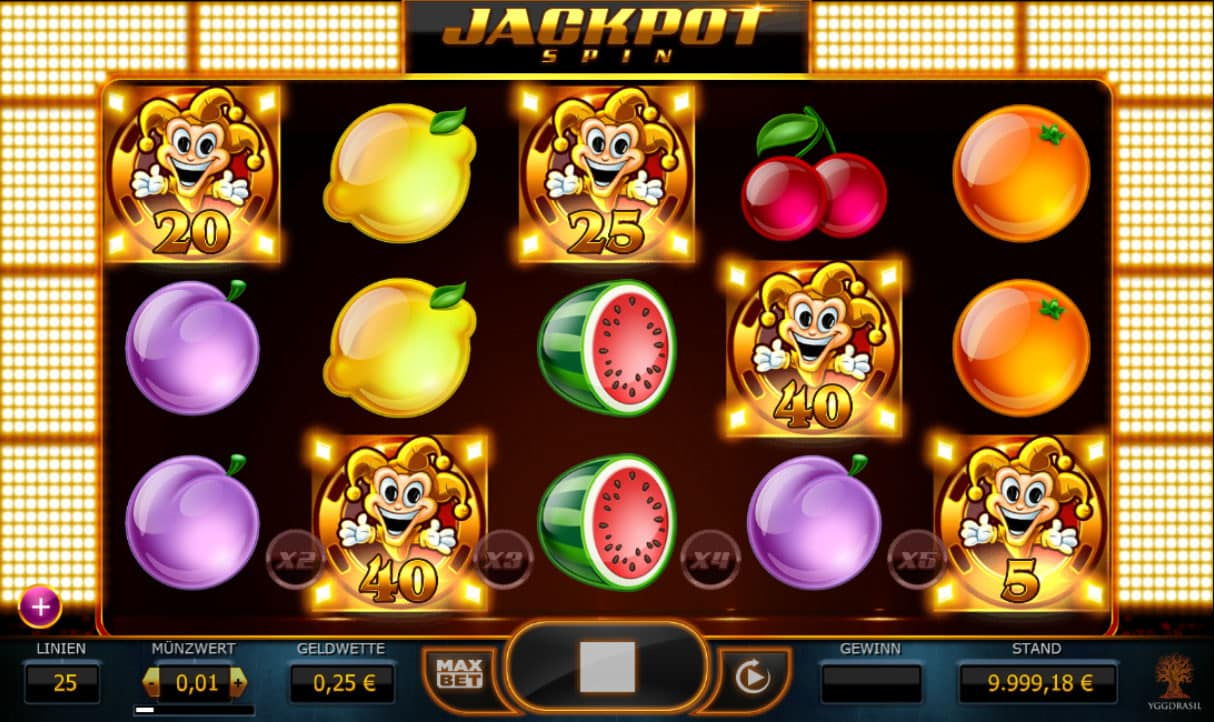 Plenty of Fruit 40 gratis spielen | Online-Slot.de