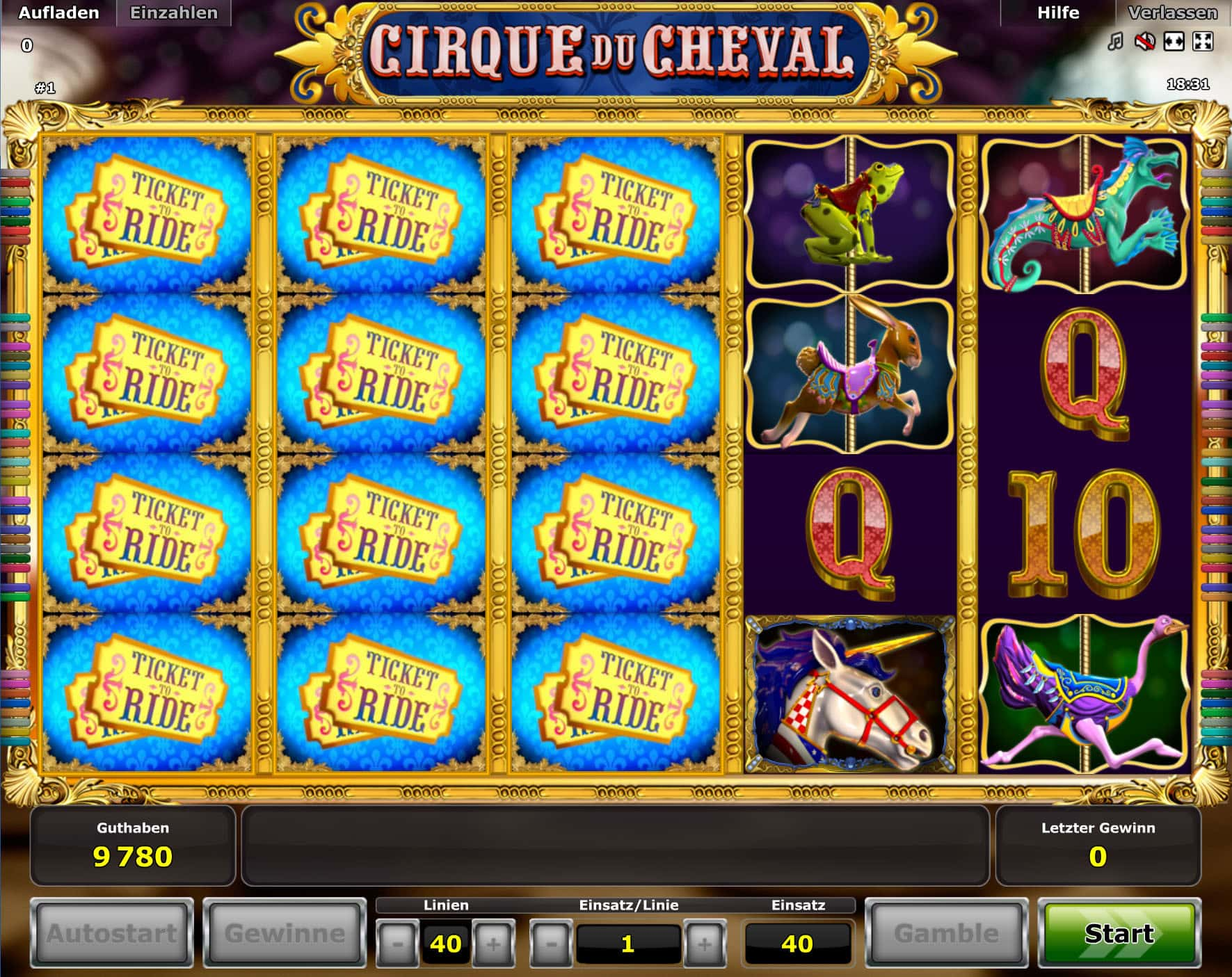 online slot touch spiele