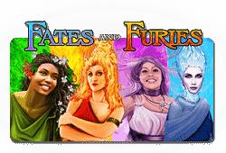 Novomatic Fates and Furies logo