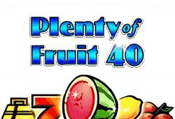 Plenty of Fruit 40 Slot kostenlos spielen