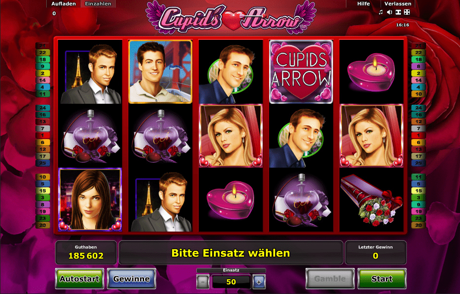cupids arrow spielen