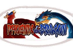 Merkur Phoenix and Dragon logo