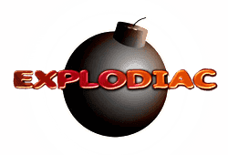 Gamomat - Explodiac slot logo