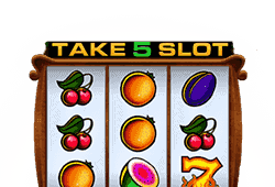 Bally - Take 5 slot logo