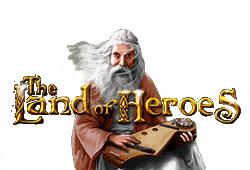 Gamomat - The Land of Heroes slot logo
