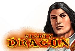 Gamomat - Mighty Dragon slot logo