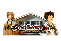 Bally Tom Sawyer & Huckleberry Finn logo