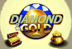 Diamond and Gold Slot kostenlos spielen