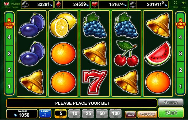 Aufregende Novomatic und EGT Slots jetzt kostenlos spielen