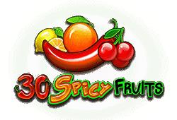 30 Spicy Fruits Slot kostenlos spielen
