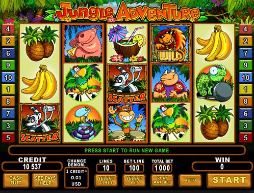Great Adventure Slot - Spielen Sie dieses EGT-Casino-Spiel online