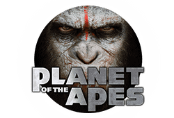 Net Entertainment Planet of the Apes logo