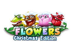 Net Entertainment Flowers Christmas Edition logo