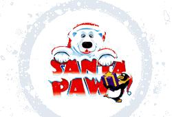 Microgaming Santa Paws logo