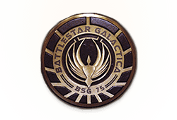 Microgaming Battlestar Galactica logo