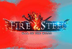 Betsoft Fire & Steel War of the Wilds logo