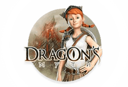 Microgaming Dragon's Myth logo