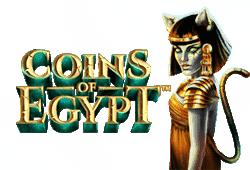 Coins of Egypt Slot kostenlos spielen