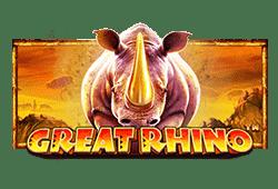 Great Rhino Slot kostenlos spielen