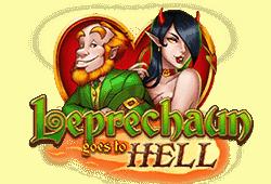 Play'n GO Leprechaun goes to Hell logo