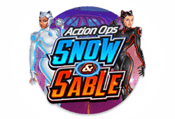 Microgaming Action Ops: Snow and Sable logo