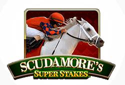 Net Entertainment Scudamore's Super Stakes logo