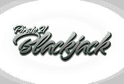 Pirate 21 Blackjack logo