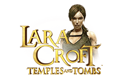 Microgaming Lara Croft Temples and Tombs logo