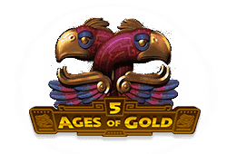 Playtech 5 Ages of Gold logo