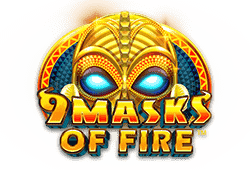 Microgaming 9 Masks of Fire logo