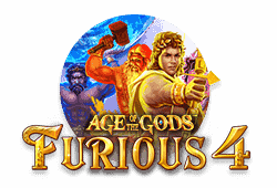 Playtech Age of the Gods: Furious 4 logo