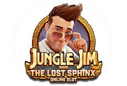 Jungle Jim and the lost Sphinx Slot kostenlos spielen