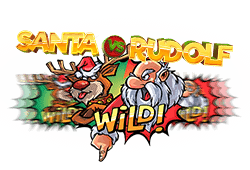 Net Entertainment Santa vs Rudolf logo