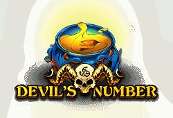 Red Tiger Gaming - Devil's Number slot logo
