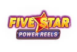 Red Tiger Gaming - Five Star Power Reels slot logo