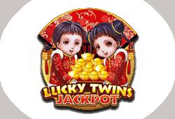 Microgaming - Lucky Twins Jackpot slot logo