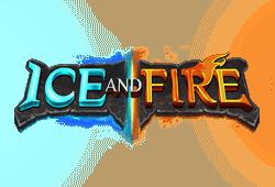 Yggdrasil - Ice and Fire slot logo
