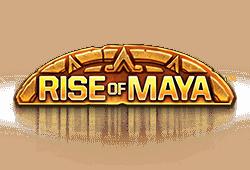 Net Entertainment - Rise of Maya slot logo