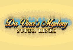 Red Tiger Gaming - Da Vinci's Mystery Super Lines slot logo
