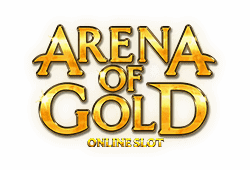 Microgaming - Arena of Gold slot logo